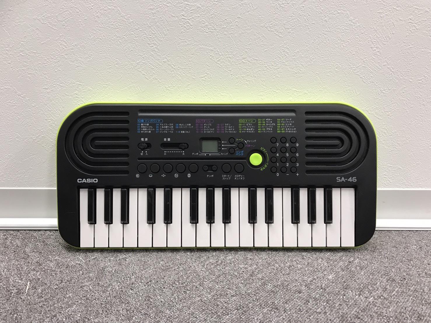 №72 カシオ電子楽器 SA-46