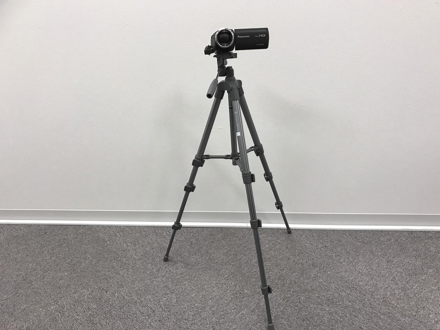 №73  ビデオカメラ HC-V360MS 三脚セット